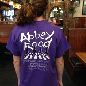 abbey road pub short sleeve