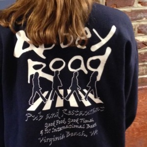 abbey road pub sweatshirt