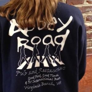 abbey road pub sweatshirt