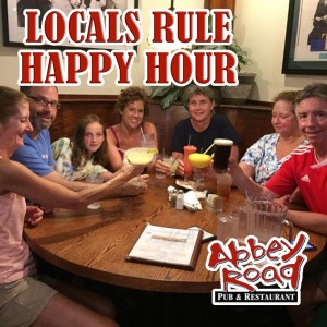 locals rule happy hour